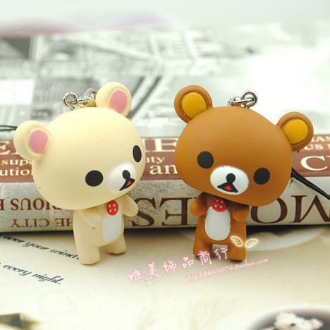 【图】网友推荐单品:可爱轻松熊 懒懒熊手机挂件 情熊