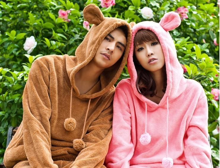 韩国初秋可爱小熊情侣睡衣 喜欢 23 加入专辑 你也可以顺便说点什么 o