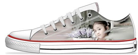 个性低帮帆布鞋搭配图片