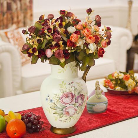 【图】网友推荐单品:夏洛琳款 欧式复古手绘陶瓷花瓶