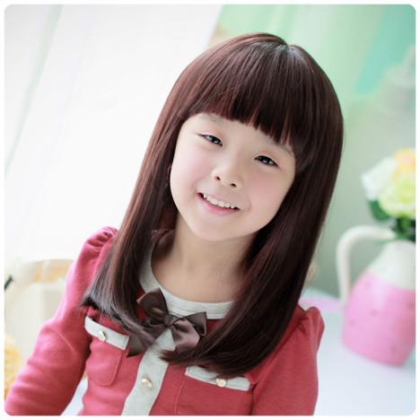 小女孩可爱写真发型