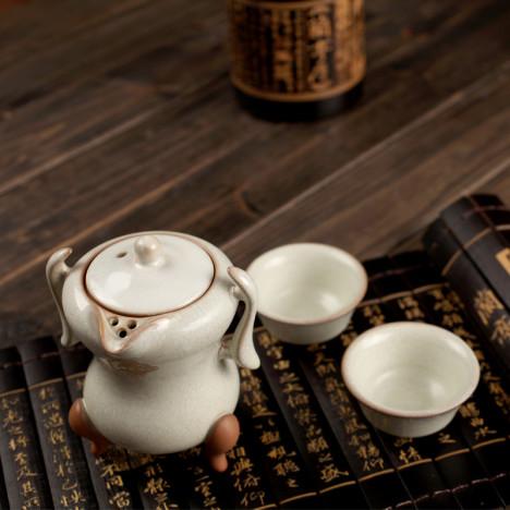 手抓壶茶具搭配图片_手抓壶茶具如何搭配