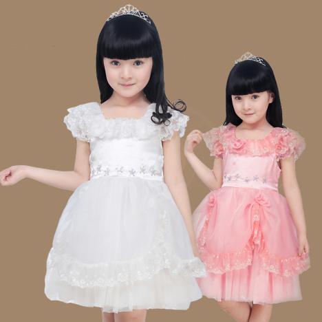 五岁女孩夏装搭配图片