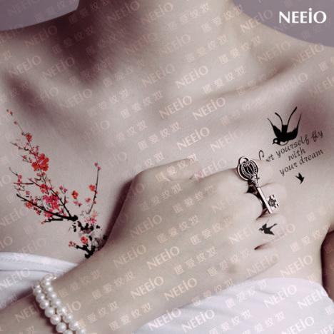 女款手腕纹身小图分享展示