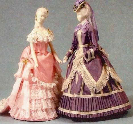欧式古典服装裁剪 纸样