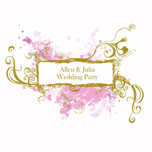 logo婚庆设计模板个性婚品标志,时尚设计,个性设计