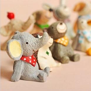 树脂小动物摆件装饰品淘宝拍摄道具