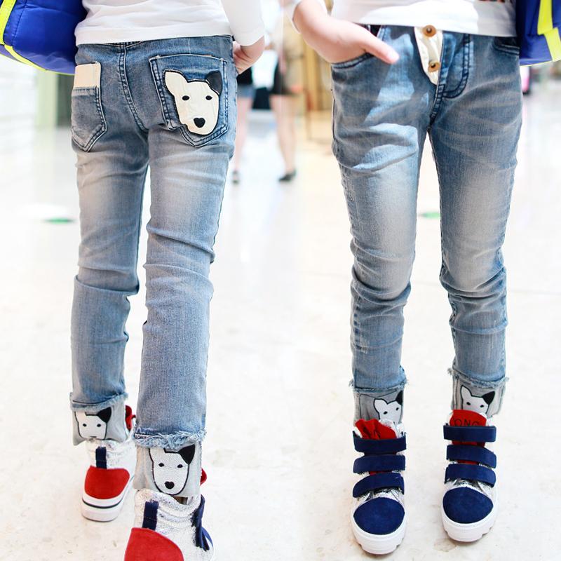 可爱宝贝牛仔裤