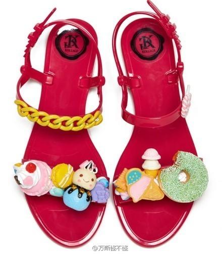 韩国ulzzang原宿凉鞋搭配图片