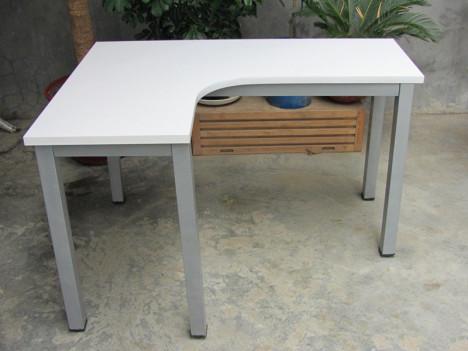钢木转角桌 办公电脑桌