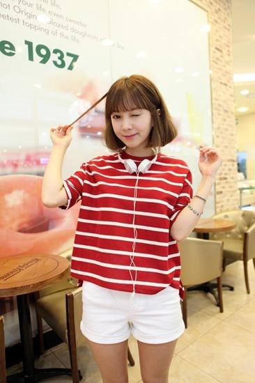 红白衣服搭配图片_红白衣服如何搭配