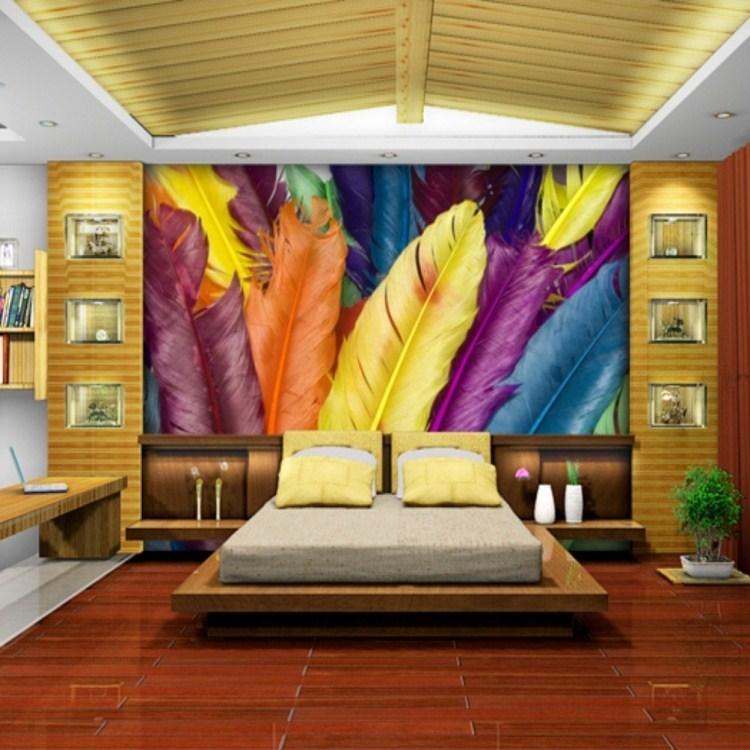 影视墙大气5d欧式壁画
