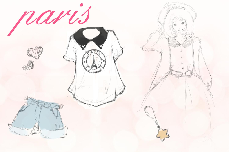 画裙子简单步骤