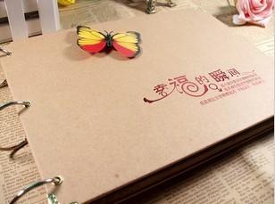 10寸DIY相册韩国创意手工影集宝宝成长纪念情侣儿童大本送角贴笔图片