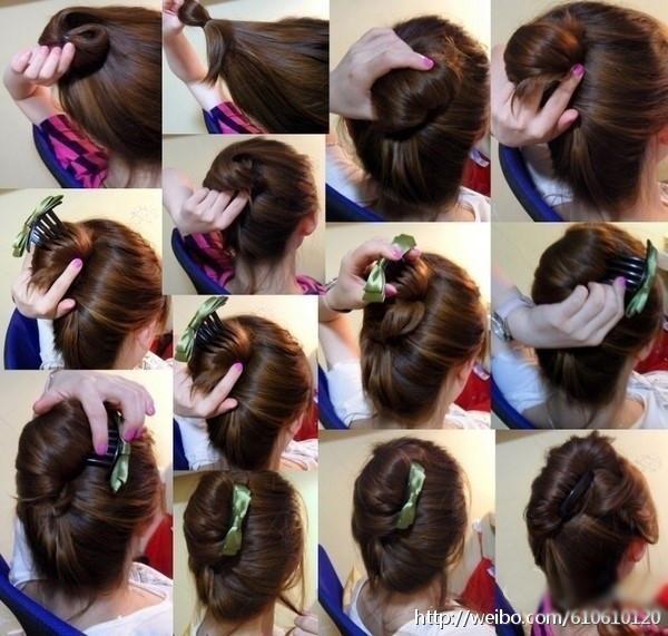 儿童发型 步骤