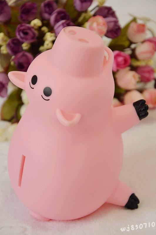 晒货大爆炸#kiss猪猪存钱罐,家里的陶瓷猪猪存钱罐被