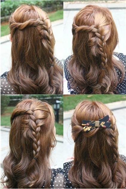 大爱这个发型!青春可爱活泼甜美,日韩风的mm最适合了!