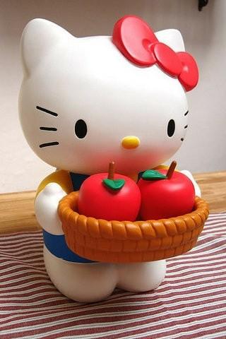 kitty猫酸奶慕斯蛋糕图片
