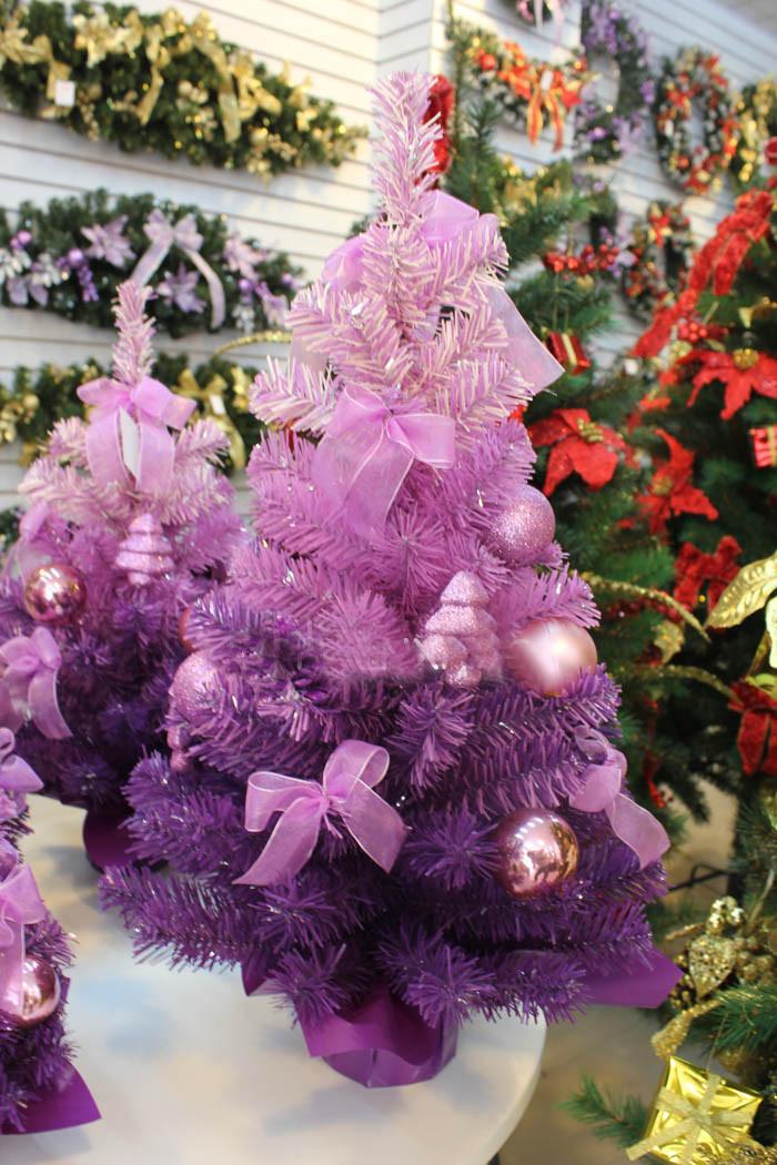 香芋紫#圣诞紫色渐变树,此款圣诞装饰树,款式新颖,非常适合广场,酒店