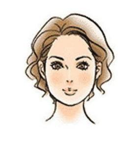 申字脸型: 给人感觉机敏,适宜                    2013年 01月12日图片