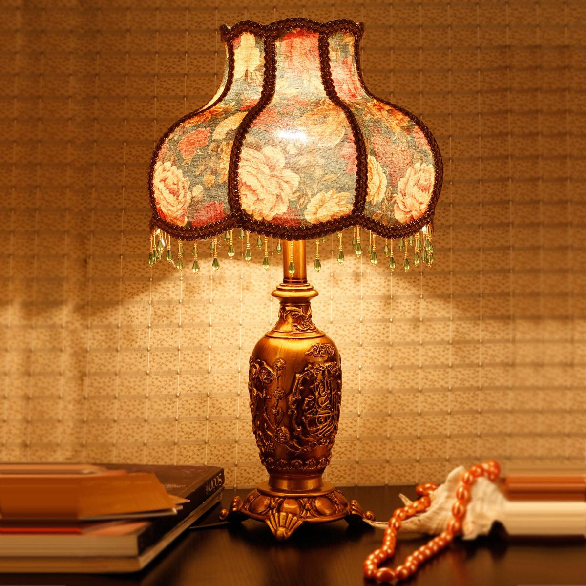 奢华拜占庭 欧式新古典台灯复古宫廷,贵族般的享受