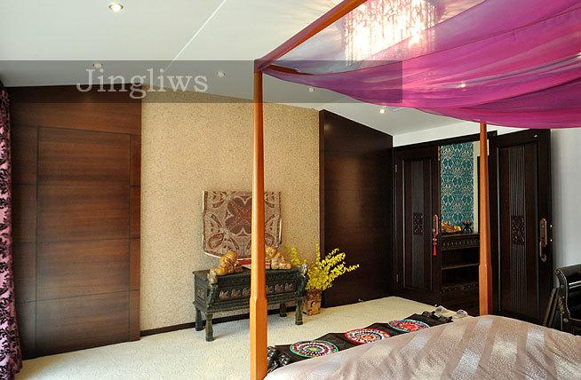 280平异域风情别墅 新中式东南亚艳丽混搭 装修效果图 -280平异域风