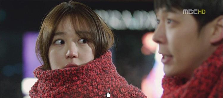 想你尹恩惠同款韩版毛线针织围巾
