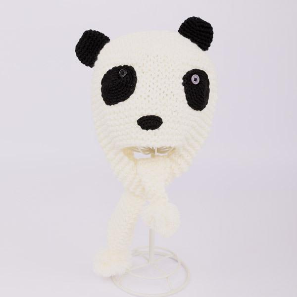 韩国可爱卡通造型毛线球针织帽