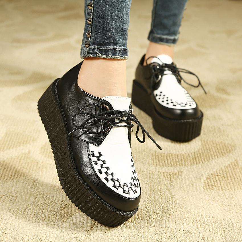 vivi杂志款厚底鞋单鞋