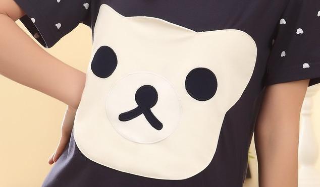 【夏季可爱小熊女生睡衣】-内衣-女士内衣/家居服