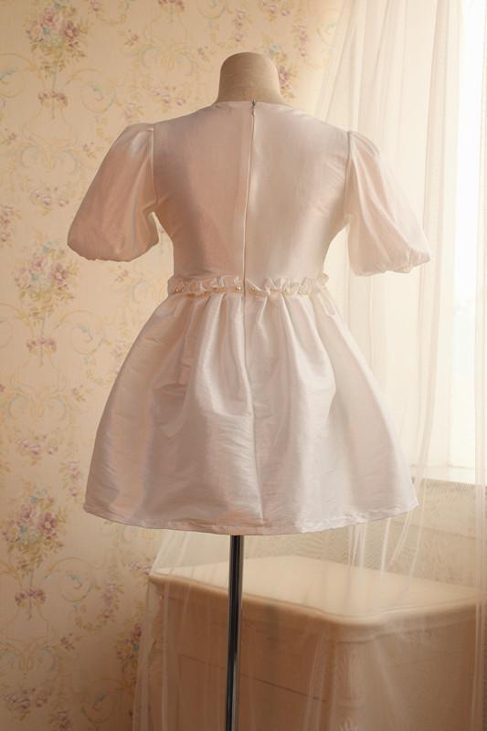 【可爱人头连衣裙】-衣服-ms.鱼衣橱-蘑菇街优店
