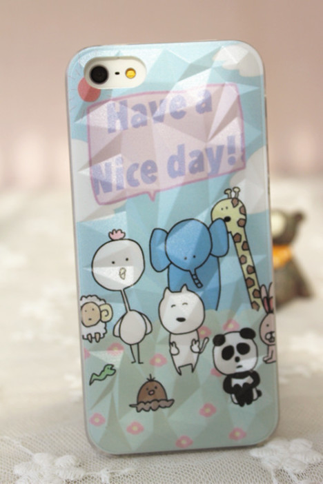 【开心动物园 苹果手机壳】-配饰-手机配件