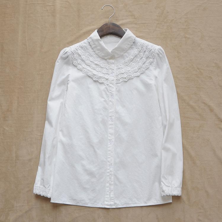 【森女系白衬衫】-衣服-服饰鞋包