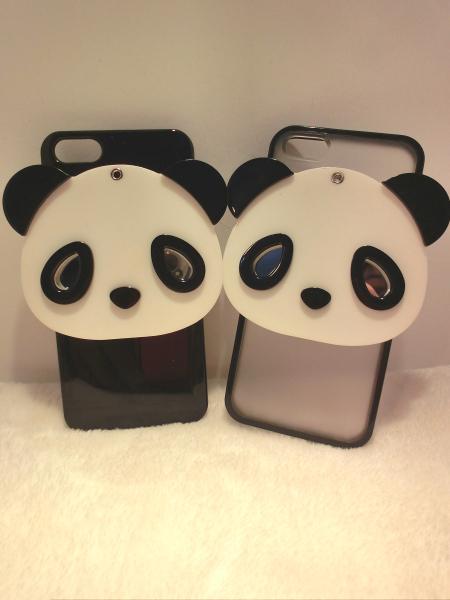 【超萌可爱大熊猫iphone壳】-配饰-手机配件