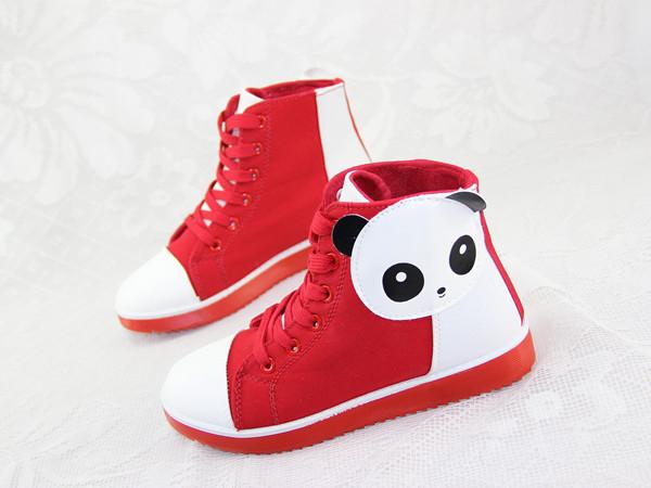 【可爱卡通帆布鞋】-鞋子-帆布鞋
