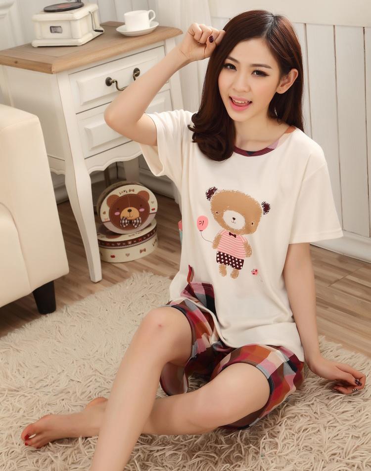 【可爱小熊情侣睡衣】-衣服-女士内衣/家居服