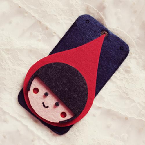小红帽 手工制iphone 三星手机套