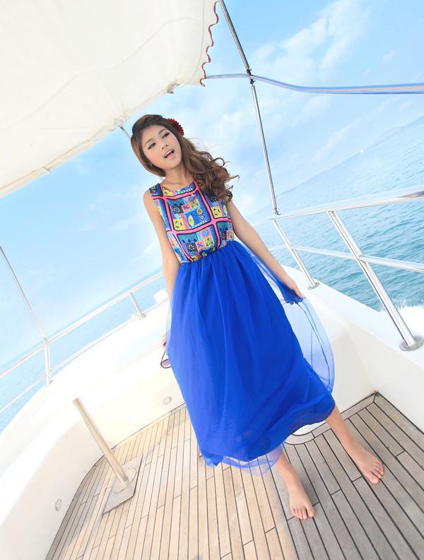 【波西米亚长裙】-衣服-连衣裙