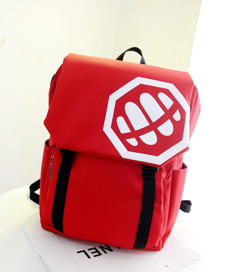 【优尚良品欧美搞怪图案防水双肩包】-包包-箱包皮具