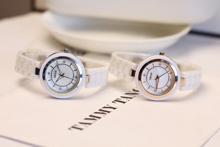 柯紫小清新陶瓷腕表