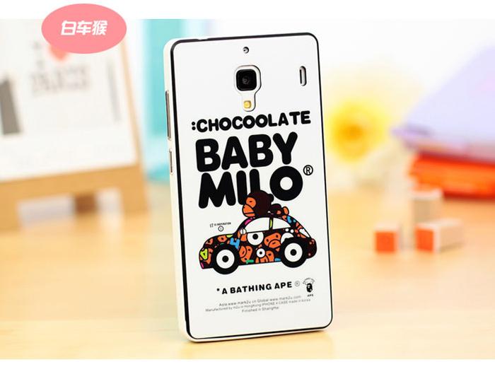 红米,红米1s可爱卡通情侣手机套