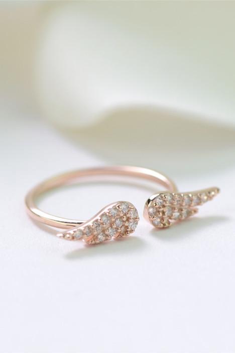 配饰,戒指,韩版,礼物,可爱,小清新,创意,微镶,个性,饰品