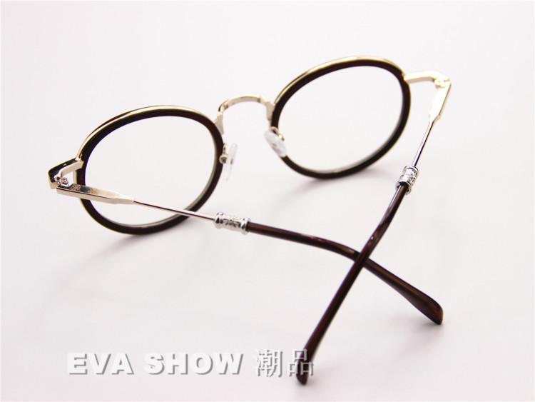 张馨予同款可爱圆框眼镜