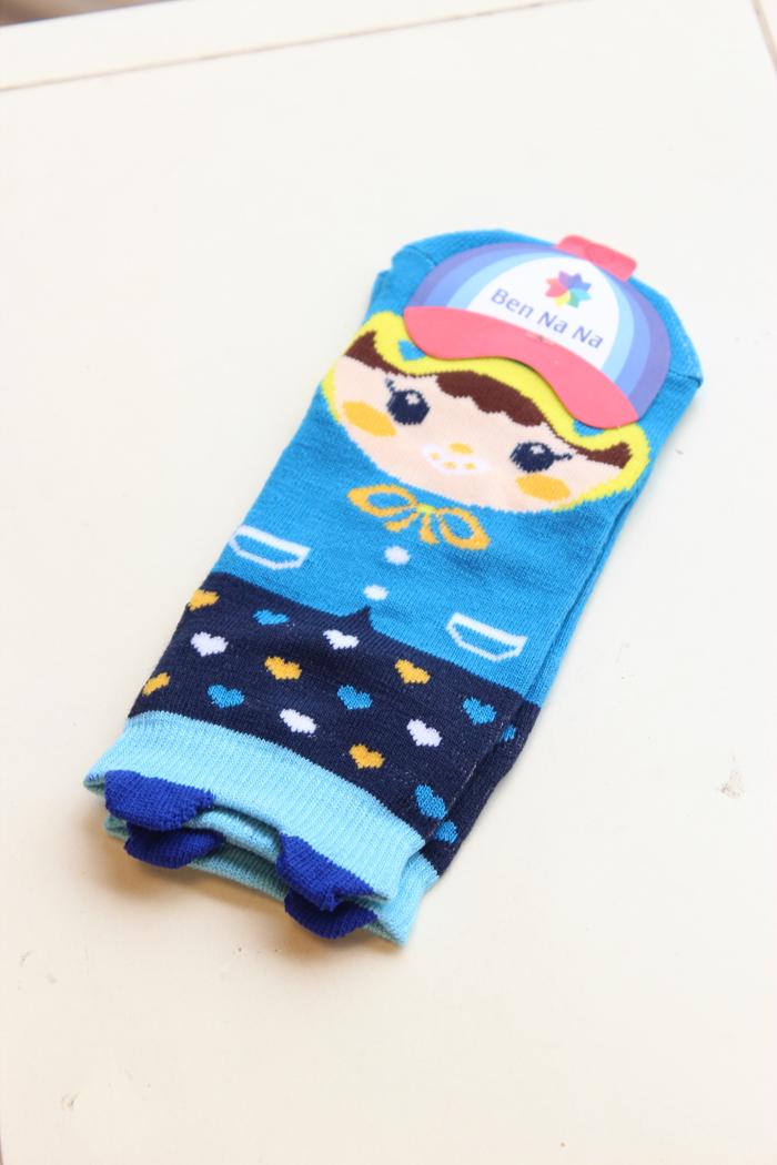 【4双一组】可爱袜子卡通袜