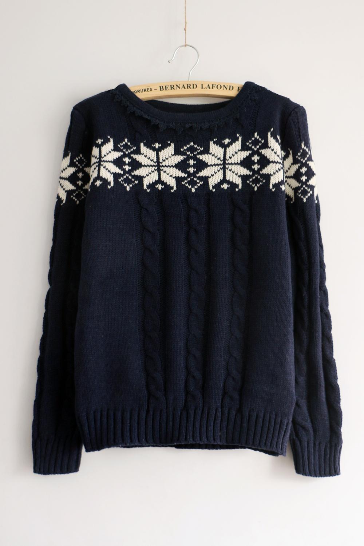【图】韩版蕾丝花边八角花毛衣搭配/价格-loveavril