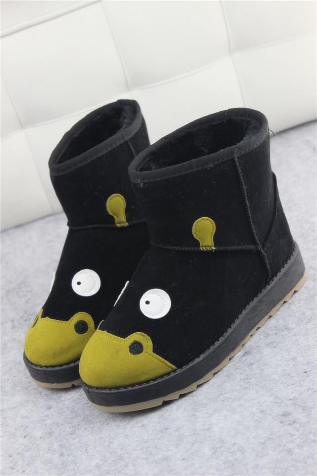 【可爱呆萌卡通雪地靴】-鞋子-雪地靴_女鞋_服饰鞋包