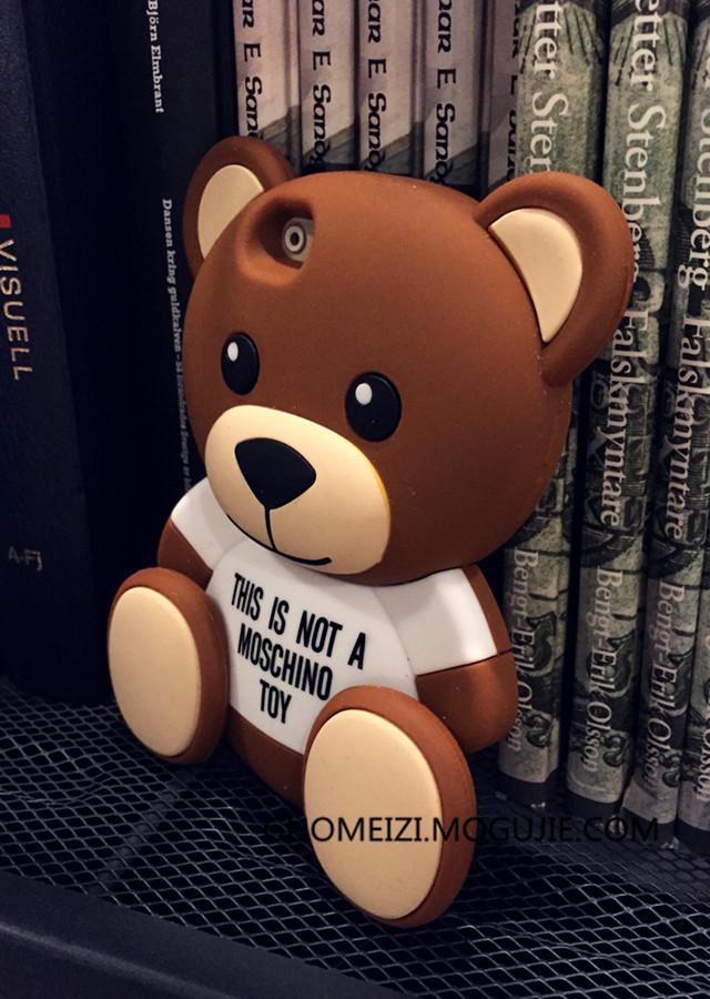 超萌哒泰迪熊iphone手机套