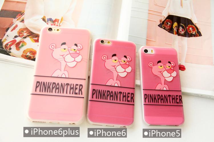 粉红豹拉丝iphone壳