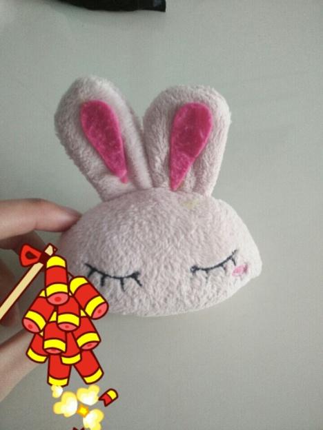超级可爱毛绒小兔子.