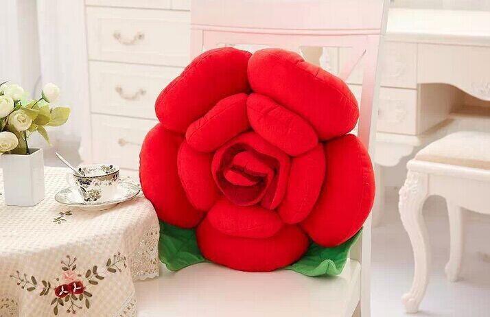 【永不凋谢的玫瑰花抱枕】-null-家居建材